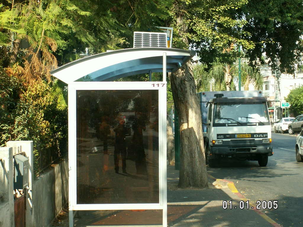 Solar Bus Shelter Vernal Energy Group Ltd