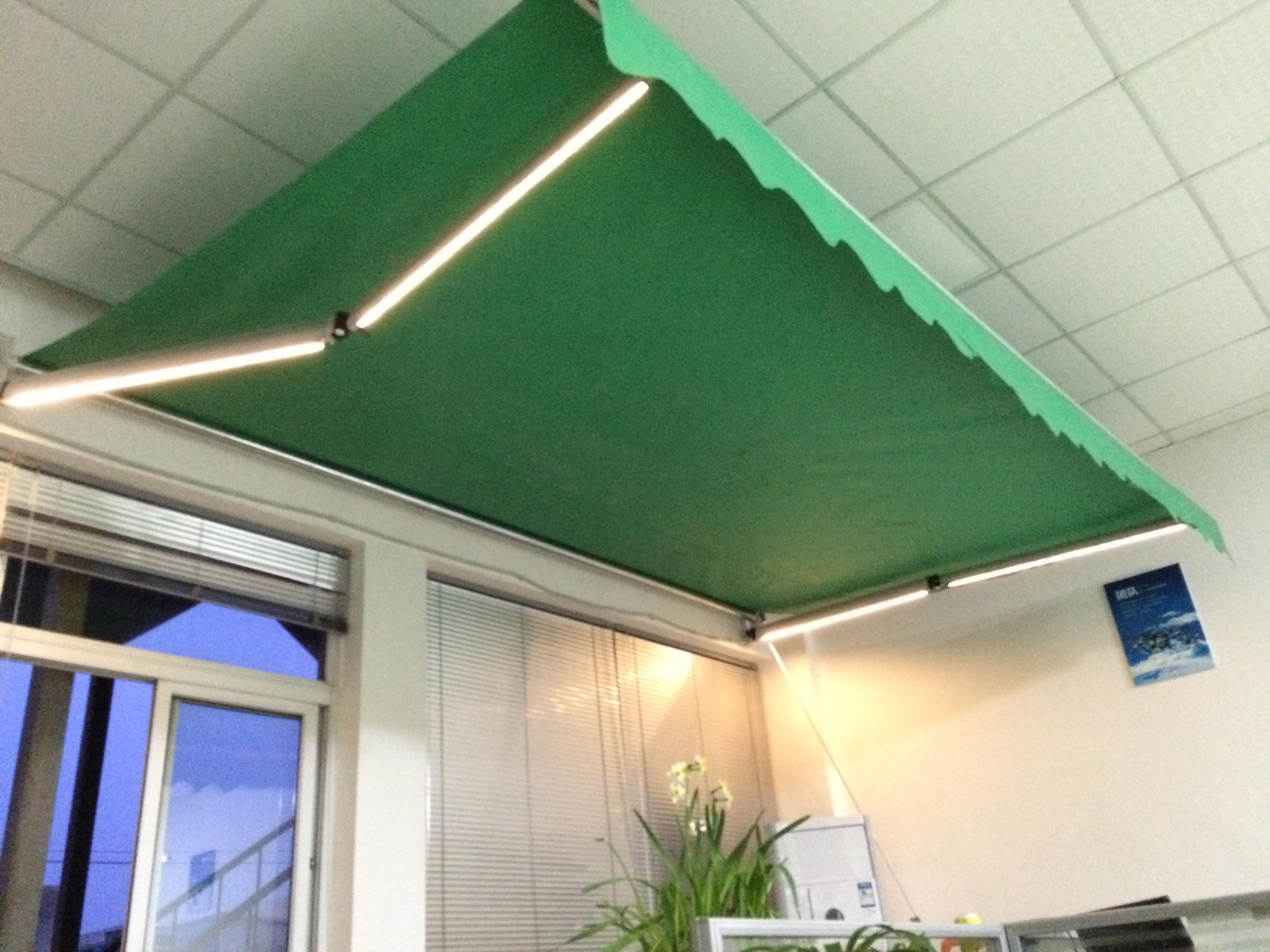 Solar Awning Led Lights With Bluetooth Speaker Vernal